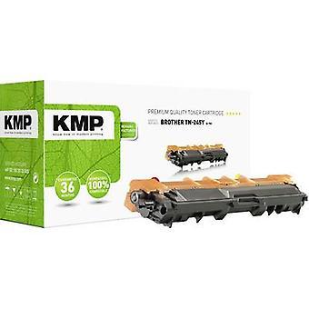 Cartucho de tóner KMP reemplazó a Brother TN-245Y, TN245Y Compatible Yellow 2200 Sides B-T51