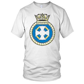 Royal Navy HMS Lindisfarne damer T skjorte