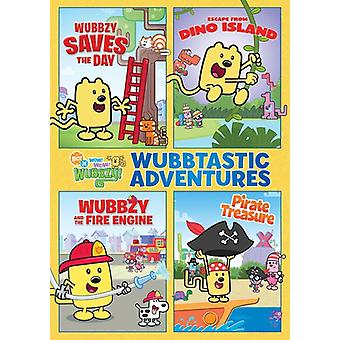 Wubbzy's Wubbtastic äventyr [DVD] USA import