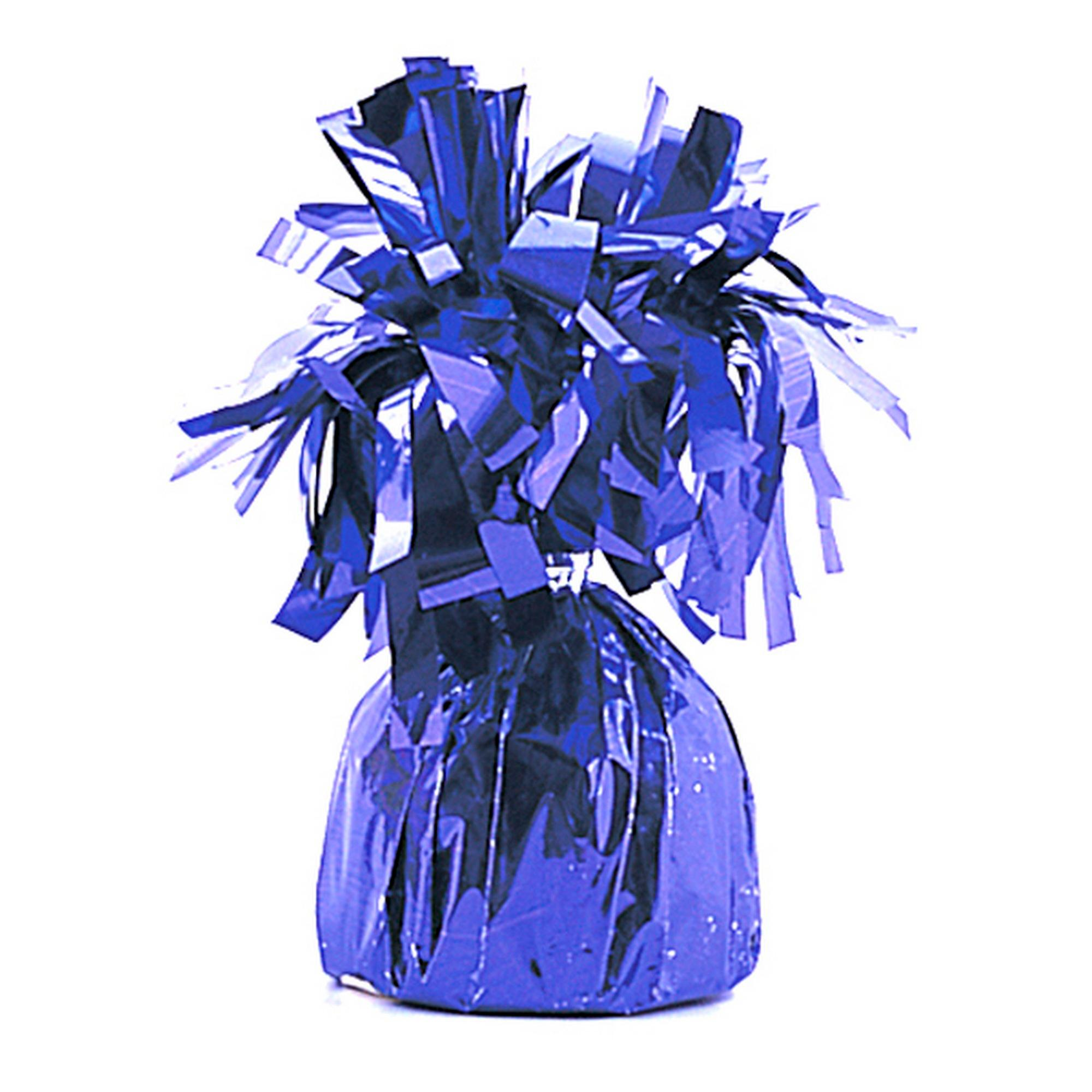 Unique Party Purple Foil Tassels Balloon Weight