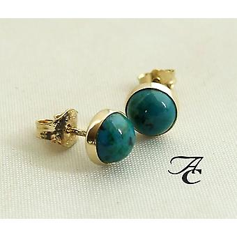 Gold Earrings with Eilat