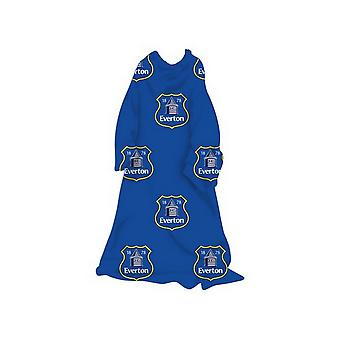Everton FC Childrens/Kids Official Football Sleeved Fleece Blanket
