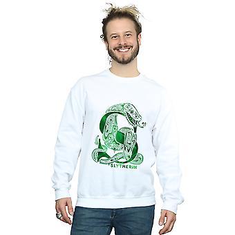Harry Potter mannen Zwadderich Snake Sweatshirt