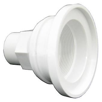 Balboa 30-4332WHT Gunite Fitting Niche Adapter - White