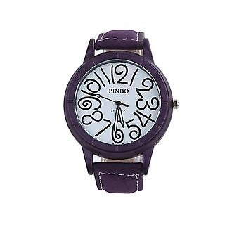 Smart Funky Watch violet clair mode horloge temps