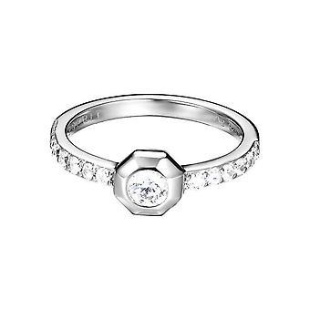 Esprit Damen Ring Silber JW52890 Zirkonia ESRG92705A1