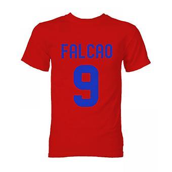 Falcao Atletico Madrid Held T-Shirt (rot)
