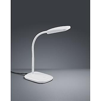 Trio de iluminação candeeiro de mesa de plástico branco moderno de Boa
