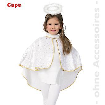 Cape Engelumhang Engelcape Kinder Kostüm Engel Engelchen Kinderkostüm
