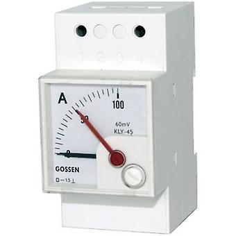 GMW DQB 45H, MB 0/4-20 mA, Sk 100 % Panel Meter Dqb 45 H-Serie 0/4 - 20 mA