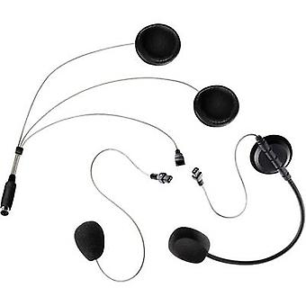 Albrecht COHS Universal-Headset 41932 Headset with microphone Suitable for Full-face helmet, Jet helmet