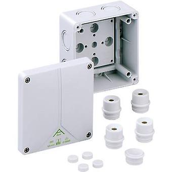 Spelsberg 80690701 Joint box (L x W x H) 110 x 110 x 67 mm Grey IP65