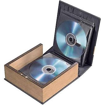 Hama CD & Photo CD album 28 CDs/DVDs/Blu-rays Leather brown (matt) 1 pc(s) (W x H x D) 163 x 170 x 63 mm 78385
