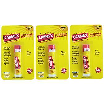 Carmex pack du baume 3 lèvres original