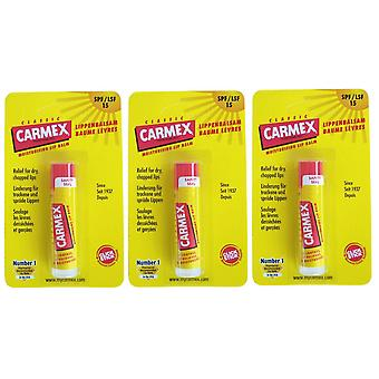 Carmex original lip balm 3 pack