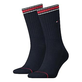 Tommy Hilfiger 2 Pack Sport Sock - Dark Navy