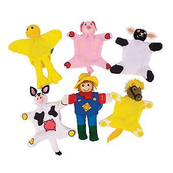 Farma bigjigs hračky domácí loutky