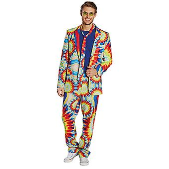 Hippy garnitur męskie kostium garnitur hippy batik karnawał