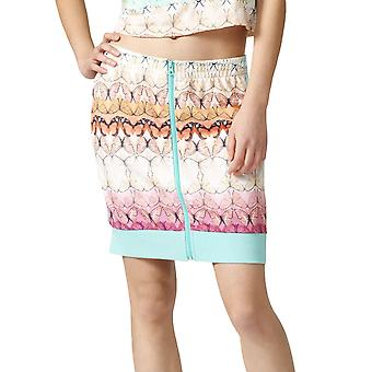 adidas Originals Womens Borbofresh Full Zip 3 Stripe Track Skirt - Multi