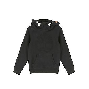 Timberland Boys Black Hooded Sweatshirt