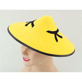 Bnov Chinese Coolie Felt Hat