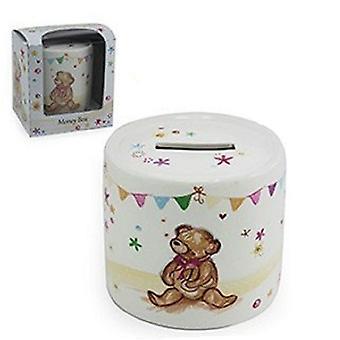 Menor & Pavey pequeno urso abraços coleção dinheiro caixa LP33239