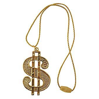 Dollar medaillon/String snoer