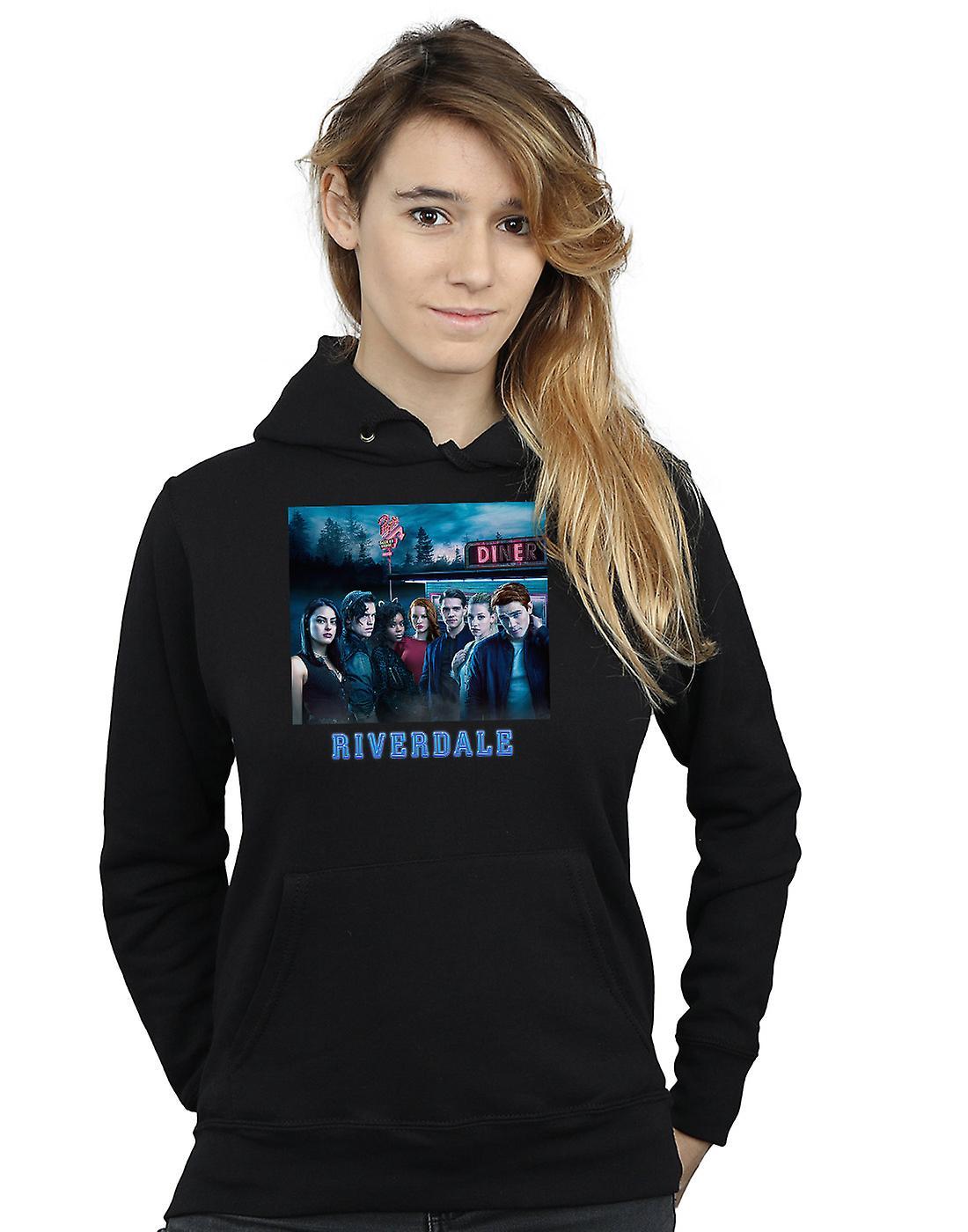 Riverdale Women's Diner Poster Hoodie
