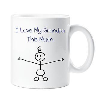 Jeg elsker min bedstefar dette meget drenge krus