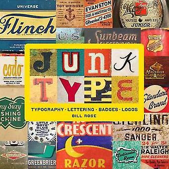Нежелательный тип - Типография - Письмо - Значки - Логотипы Билла Роуза - 978