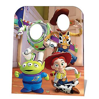 Toy Story Stand-in (Child Size) Buzz, Woody and Jessie Lifesize Cardboard Cutout / Standee