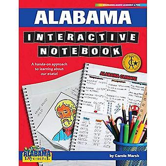 Alabama Interactive Notebook: Une approche pratique à l'apprentissage de notre état! (Expérience de l'Alabama)