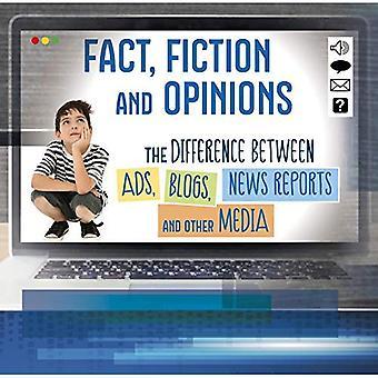Tatsache, Fiktion und Meinungen: die Unterschiede zwischen Ads, Blogs, Nachrichten und anderen Medien (erste Fakten: alles über Medien)
