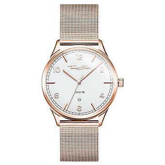 Thomas Sabo | Rose guld armband i rostfritt stål | Vit urtavla | WA0341-265-202-40