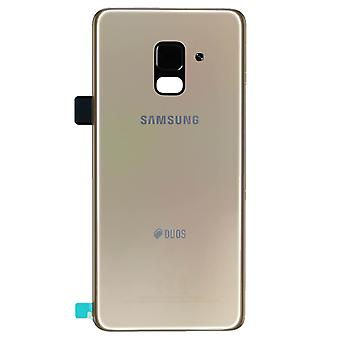Original Samsung Galaxy A530 Gold DUOS Batterieabdeckung | iParts4u