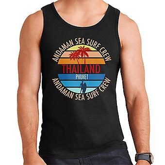 Phuket Surf Crew Retro Men's Vest