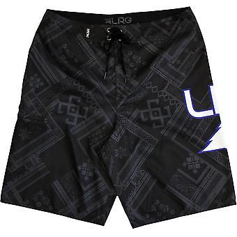 LRG ikonet Mens styret shorts mørke trekull