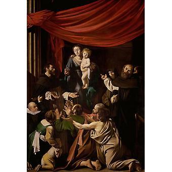 The Death of the Virgin,Caravaggio,60x40cm