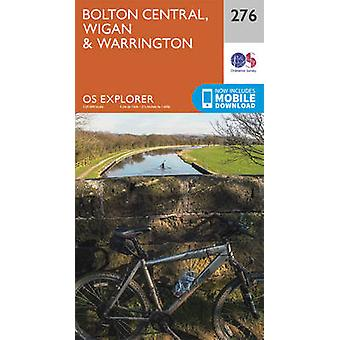 Bolton - Wigan and Warrington (September 2015 ed) by Ordnance Survey