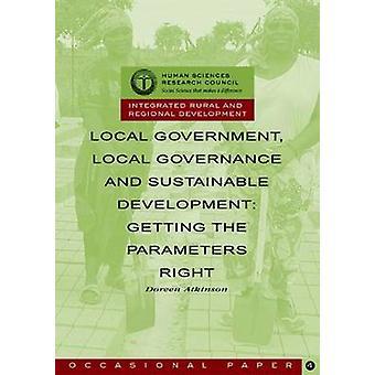 Lokala myndigheter-lokala styrelse former och hållbar utveckling-gett