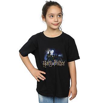Hary Potter Girls Hogwarts Castle camiseta