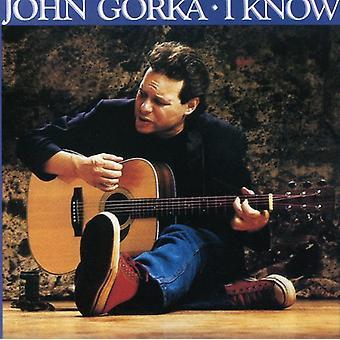 John Gorka - I Know [CD] USA import