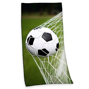 Fodbold strand håndklæde