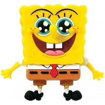 3D Foam Magnet - Spongebob Squarepants - Happy Face New 63366