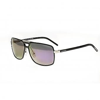 Breed Retrograde Aluminium Polarized Sunglasses - Gunmetal/Purple