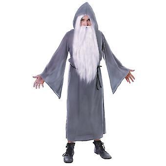 Bristol nyhet mens Wizard Cloak kostym