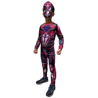 Pink Ranger Classic Muscle Saban's Power Rangers Superhero Girls Costume 6-8