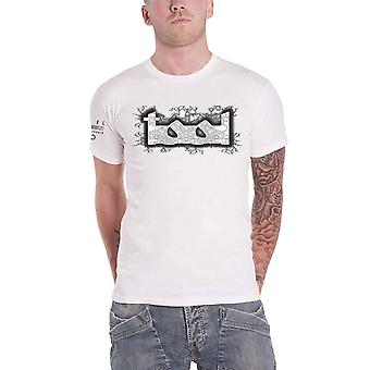 Tool T Shirt Double Image Lateralus Band Logo new Official Mens White