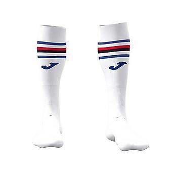 2019-2020 Sampdoria Joma Home Football Socks (White)