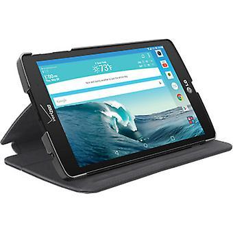 Verizon Folio Kickstand Case with Magnetic Closure For LG G Pad X8.3 - Black
